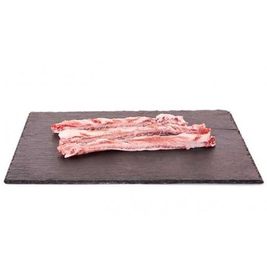 Intercostal pork meat or «lágrima»